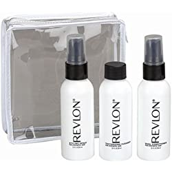 Revlon Wig Travel Kit for Synthetic Hair, 3 Pack - 2 oz. Cleanser, Conditioner & Styling Spray