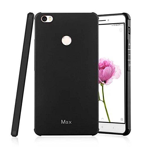 SMTR Xiaomi Mi Max Funda Silicona,Xiaomi Mi Max Funda Gel Suave TPU Case - Carcasa Resistente a los Arañazos para Xiaomi Mi Max -Negro Negro