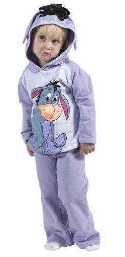 Disney's Eeyore 2-piece Hooded Fleece Set Size 3T