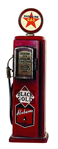 Home Accent - wood gas pump cd holder an attractive utility (Antique Gas Pump)