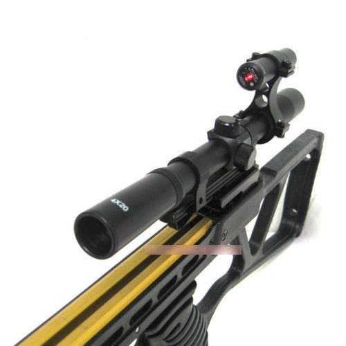 Hunting Crossbows 150lbs Black Metal Hunting Crossbow Archery 14 arrows + 4x20 Scope Crossbow Bolts
