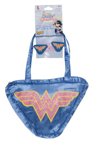 My Super Best Friends Wonder Woman Purse and Hair (Wholesale Childrens Party Supplies)