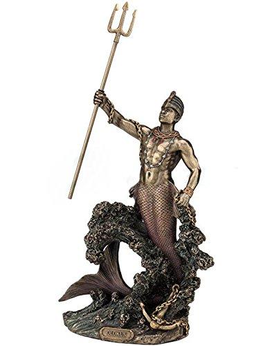 Statue Orisha Olokun Yoruba Santeria Figurine Lucumi Figure