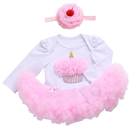baby 1st party dress - 3