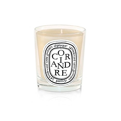 DiptyqueキャンドルCoriandre /コリアンダー190グラム - Diptyque Candle Coriandre / Coriander 190g (Diptyque) [並行輸入品] B01MQGDQDW