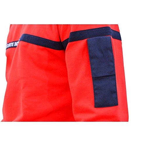 Marine Rouge Altorisk Incendie Sweat ff0000 Securite Bande 4x4XZrqE