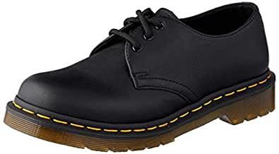 Dr. Martens 1461 3 Eye Shoe Fashion Shoes, Black, 5 US Women 4 US Men