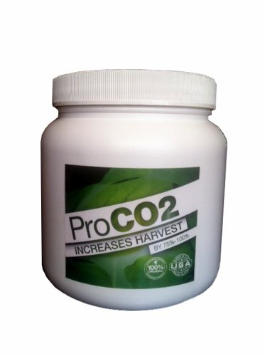 Mini Pro CO2 Bucket w/ Handle for 2' x 2' Area - Natural Releasing Carbon Dioxide Boost (Plant Natural Co2)