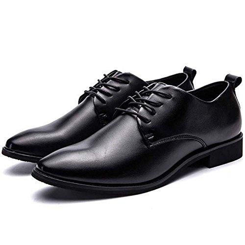 Shoes Uniform Men's Black 233 Footwear KemeKiss Lace Up Formal qPZBt