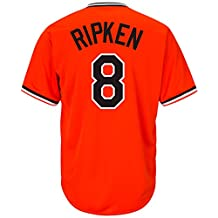 Cal Ripken Jr. Baltimore Orioles #8 MLB Men's Cool Base Cooperstown Pullover Jersey (3XL)