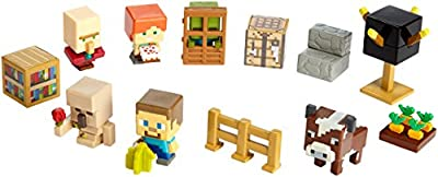 Minecraft Village Biome Figures Pack by Mattel