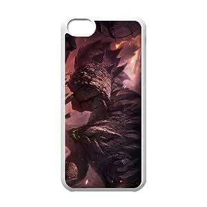 iPhone 5c Cell Phone Case White League of Legends Malphite Enxwm