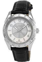 JBW Women's J6261LB Giana Unique Monotone Leather Diamond Watch