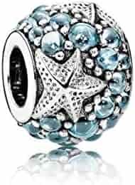 Pandora Women's Oceanic Starfish Charm - 791905CZF