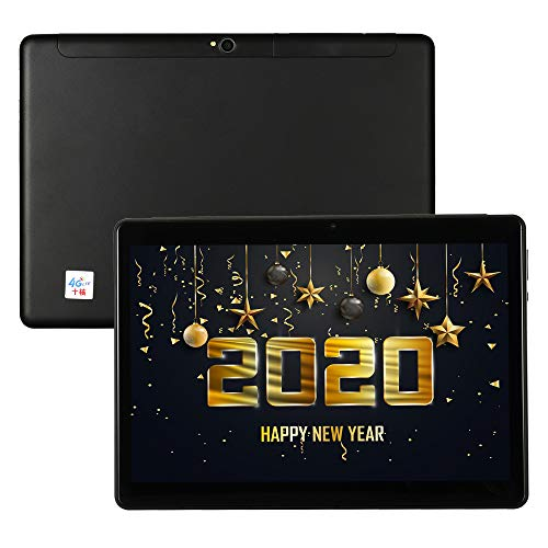 Tablet 10 Zoll 4G LTE Phablet Unlocked Android 9.0 Deca-Core 6GB RAM 64GB ROM 1920×1200 IPS Dual Cameras Dual SIM Card…
