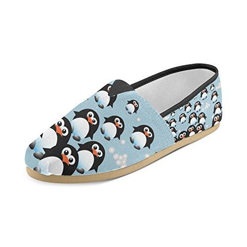 Mouchoirs De Lion Dimpressionprint Chaussures Décontractées Pour Hommes Femmes Pingouins 2