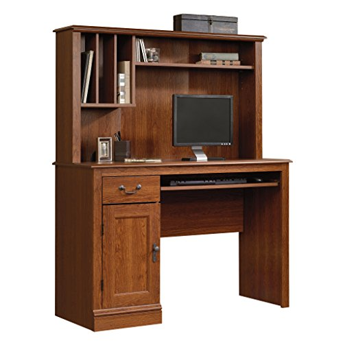 Sauder 101736 Camden County Desk with Hutch, L: 43.47