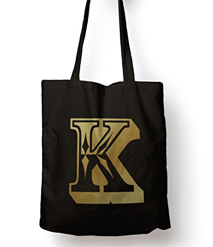 Rose Letter Alphabet/Age Personalised Gift Tote Shopping Bag K