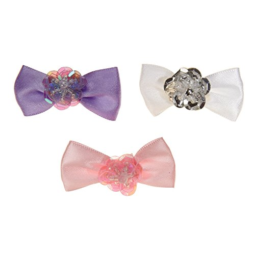 Aria Pixie Bows for Dogs, 100-Piece Canisters by Aria (Image #1)