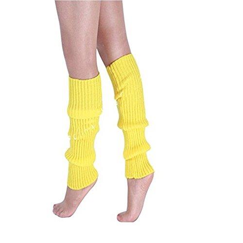 AStorePlus Women's Chunk Winter Warm Knit Crochet Legwarmer Socks - ()