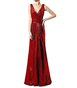 Lanier Gold Sequins Bridesmaid Dresses Formal Evening Gowns