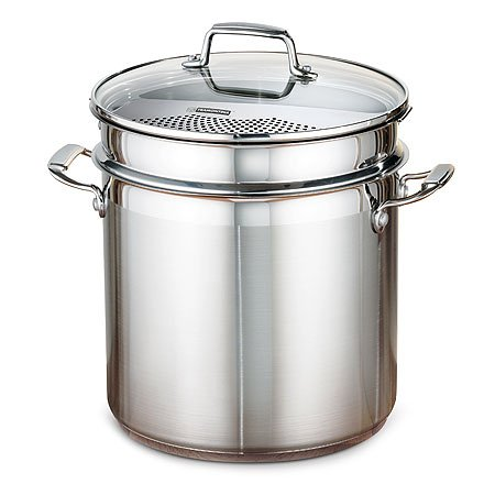 Tramontina 10 Quart 4 Piece Multi Cooker, Stainless Steel