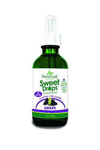 (SweetLeaf Sweet Drops Liquid Stevia Sweetener, Grape, 2 Ounce)