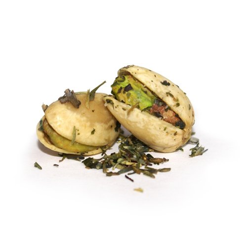 The Gilded Nut - Mediterranean Herb Pistachios, In Shell, Seasoned & Roasted - 25 Lb by The Gilded Nut