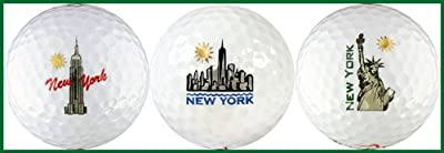 New York Skyline Variety Golf Ball Gift Set