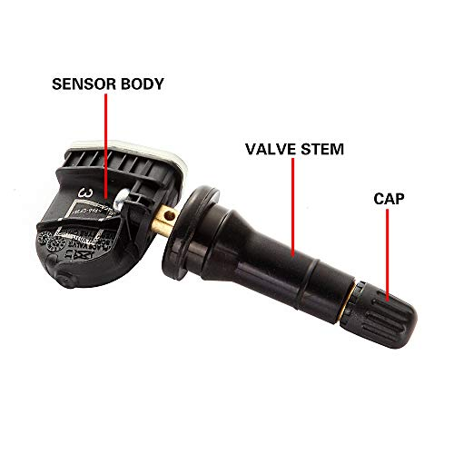 ROADFAR Tire Pressure Monitoring System Sensor (TPMS) 315MHz Fits for Buick Cadillac GMC Pontiac
