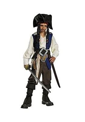 Captain Jack Sparrow Deluxe Child Costume from Disguise