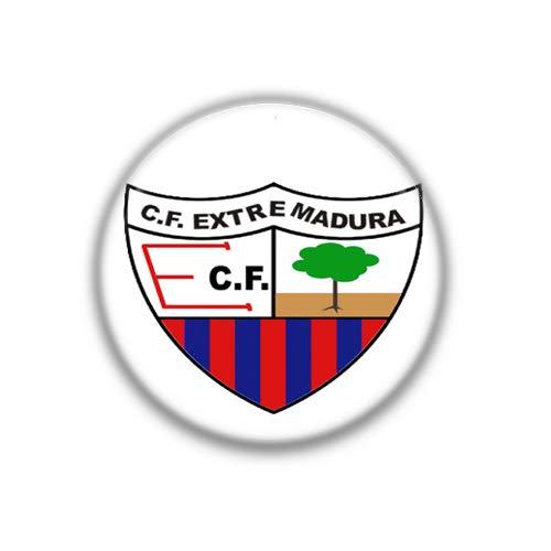 Extremadura : Bandera Comunidad Autonoma Española, Pinback Button Badge 1.50 Inch (38mm)