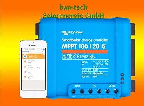 Victron Smartsolar MPPT Laderegler 100/30 30Amper 12V oder 24V inklusiv Bluetooth von bau-tech Solarenergie GmbH