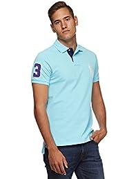 Polo Ralph Lauren Mens Custom Fit Big Pony Mesh Polo Shirt
