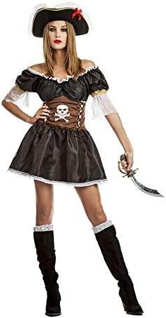 Car&Gus Disfraz de Pirata Negra para Mujer: Amazon.es: Juguetes y ...