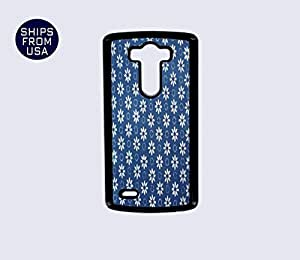 LG G3 Case - Blue Floral Pattern iPhone Cover