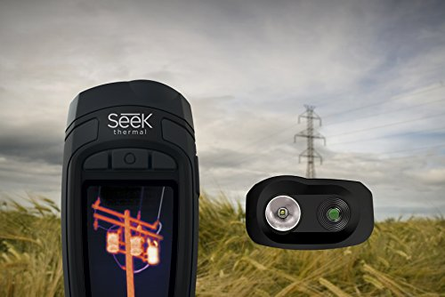 Seek Thermal Reveal Xtra Range Camera, Black