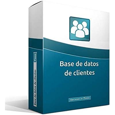 Base de datos de clientes   programa multiusuario