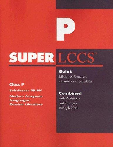 Superlccs 2004 Schedule Pb-ph: Modern European Languages Inclding Russian Language