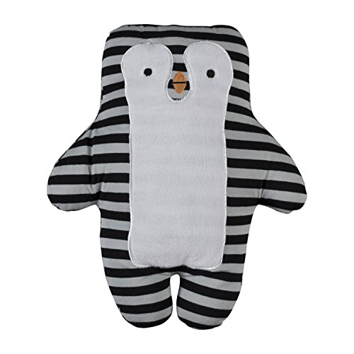 Lolli Living Knit Toy Penguin, Grey