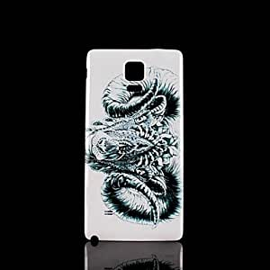 HJZ Samsung Galaxy Note 4 compatible Graphic Plastic Back Cover