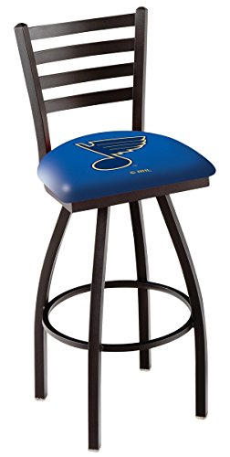 Holland Bar Stool NHL L014 St Louis Blues Swivel Counter Stool, 25