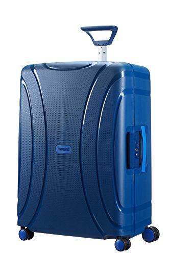 American Tourister 66983/1531 Valise Lock'n'roll 4 Roues 69/25, 69 cm, 85 L, Bleu (Bleu Marine)