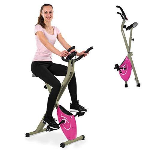 22 opinioni per Kinetic Sports Cyclette pieghevole EB01 Computer di bordo, Sensori palmari, Rosa