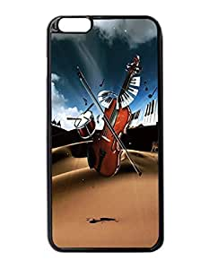 """Musical instruments Pattern Image Protective iphone 6 Plus (5.5"""") Case Cover Hard Plastic Case For iPhone 6 Plus - 5.5 Inches"""