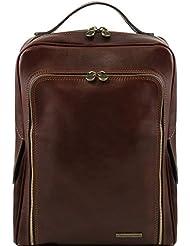 Tuscany Leather Bangkok Leather laptop backpack Leather Backpacks