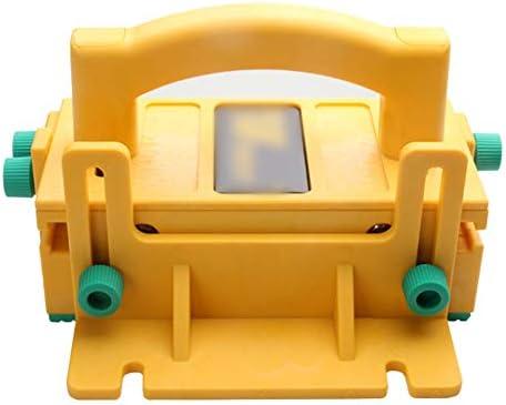 Pannow 3D-Druckblock für Tischsägen, Oberfrästische, Bandsägen und Verbindungsstücke, Holzbearbeitungswerkzeug