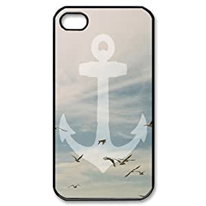 Sailor Anchor Use Your Own Image Phone Case for Iphone 4,4S,customized case cover ygtg575017