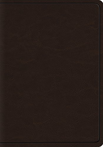 - ESV Heirloom Wide Margin Reference Bible (Goatskin, Deep Brown)