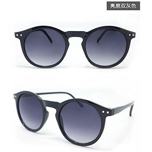 AMAZZANG-Women Men Retro Vintage Cat Eye Sunglasses Metal Frame Unisex Round Glasses U87 - Vuitton Male Louis Sunglasses